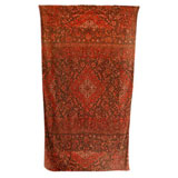 Tabrizi Cinnamon Cotton Beach Towel by Fresco | Gracious Style