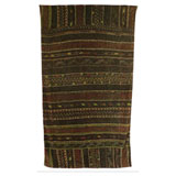 Tangier Eggplant Cotton Beach Towel by Fresco | Gracious Style