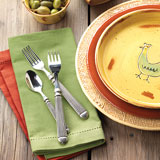 Terra Cotton Napkins &#124; Gracious Style
