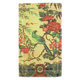 Tropical Peacock Lime Cotton Bath Mats by Fresco | Gracious Style