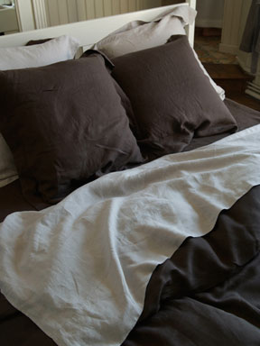 Vence Linen Bedding by Libeco &#124; Gracious Style