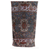 Versaille Rug Blue Cotton Beach Towel by Fresco | Gracious Style