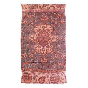 Versaille Rug French Rose Cotton Bath Towels by Fresco | Gracious Style