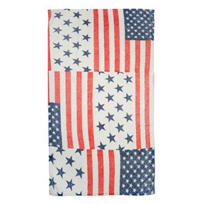 Vintage Americana Cotton Beach Towel by Fresco | Gracious Style