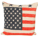 Vintage Americana Large Pillow by Fresco Towels | Gracious Style