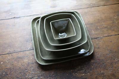 Woodbury Dinnerware in Moss