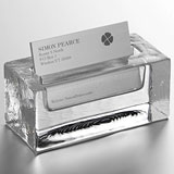 Woodbury Business Card Holder by Simon Pearce | Gracious Style
