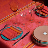 Le Jacquard Francais Richesses des Indes Table Linens &#124; Gracious Style