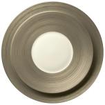 Hemisphere Matte Platinum Dinnerware